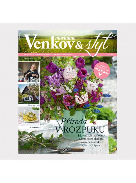 Aktuální vydání Venkov & styl - Marianne 3/2019 (poštovné zdarma)