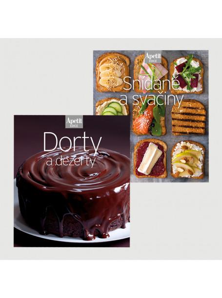 Roční předplatné  Venkov&Styl - Marianne + Kuchařky Snídaně a svačiny + Dorty a dezerty