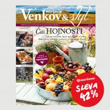DNY MARIANNE: Roční tištěné předplatné Venkov&Styl - Marianne se slevou 42%