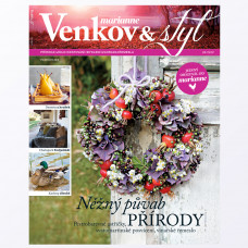 Aktuální vydání Venkov & styl - Marianne 9/2019 (poštovné zdarma)