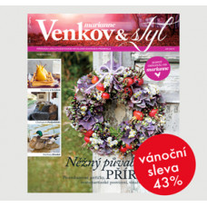 Roční tištěné předplatné Venkov&Styl - Marianne se slevou 43%
