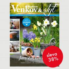 Roční tištěné předplatné Venkov&Styl - Marianne se slevou 38%
