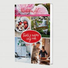 Roční předplatné  Venkov&Styl - Marianne +  kniha Tvořte s námi celý rok