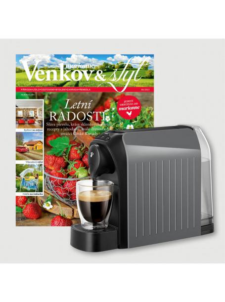 Roční předplatné  Venkov&Styl - Marianne +  kávovar Tchibo Cafissimo Easy grey