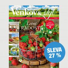 Roční tištěné předplatné Venkov&Styl - Marianne se slevou 27 %