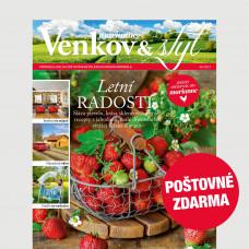 Aktuální vydání Venkov&styl - Marianne 6/2021 POŠTOVNÉ ZDARMA (pouze pro ČR)