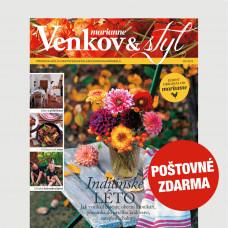 Aktuální vydání Venkov & styl - Marianne 9/2021 POŠTOVNÉ ZDARMA (pouze pro ČR)