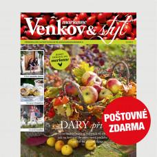 Aktuální vydání Venkov&styl - Marianne 10/2021 POŠTOVNÉ ZDARMA (pouze pro ČR)