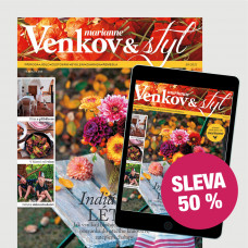 Roční kombinované předplatné Marianne Venkov&Styl (PAPÍR + DIGI)  se slevou 50 %